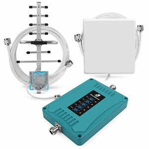 Mobile Phone Signal Booster Mobile Repeater Voice Data 700 850 1800 2100 2600MHz