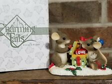 """Charming Tails by Fitz and Floyd """"Love is the Best Gift """" Item: 98/243"""