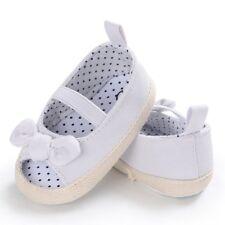 Newborn Kids Baby Girl Summer Soft Sole Crib Prewalker Toddler Anti-Slip Shoes