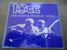 10CC DREADLOCK HOLIDAY (LIVE) / I´M NOT IN LOVE (LIVE) 2 TRACKS CD SINGLE STEMRA