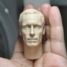 "Blank 1/6 Scale Magneto Michael Fassbender Head Sculpt Unpainted Fit 12"" Figure"