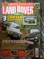 Land Rover World 10/2005 Series 1 2 3 Defender Range Discovery Freelander