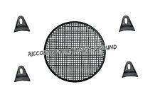 """GRIGLIA A RETE PROFESSIONALE UNIVERSALE X ALTOPARLANTE 250mm 25cm 10"""" + SUPPORTI"""