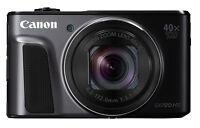 Canon PowerShot SX720 HS Black Digital Camera 20.3MP 40x Wi-Fi CMOS NIB