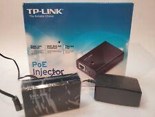 JO TP-Link TL-PoE150S Gigabit Power over Ethernet Injector Adapter PoE 802.3af