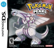 Pokemon Pearl Version DS - Note there is a small cut on the back