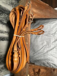 Leaders Worldwide Leather Reins For Pair
