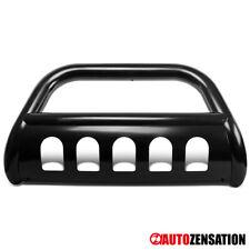 For Dodge 2003-2005 Ram 1500 2003-2009 Ram 2500 Black S/S Bull Bar+Skid Plate