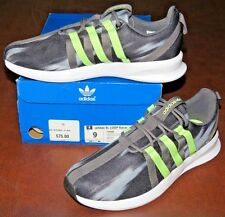 Adidas SL LOOP Racer C76998 (Black/Gray/Lime Green) SIZE 9 - NIB>FREE SHIPPING!