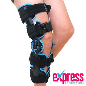 ROM Knee Brace Telescopic - Post Op Hinged Knee Brace > ACL PCL, Knee Injuries