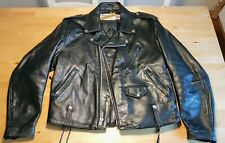 Schott NYC Perfecto 615 Leather Jacket Vintage Lederjacke Biker Bluf GAY PRIDE
