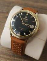 Omega Constellation Pie Pan Vintage Automatic Mens Watch,1963 Service + Warranty