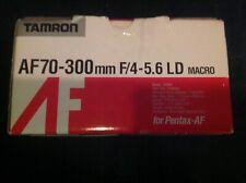 Tamron 472DP AF 70-300mm f4-5.6 LD Macro Lens for Pentax AF