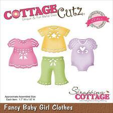 cottagecutz CCE145 baby girl clothes vestiti carta gomma crepla sizzix big shot