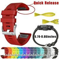 Silicone Wirstband Replacement Watch Band Strap For Garmin Fenix 5 Plus Writs