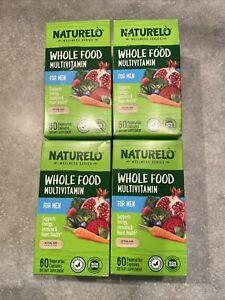 NATURELO Whole Food Multivitamin for Men - 240 Capsules Exp 4/27-5/13-2023 New
