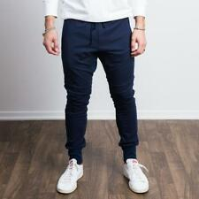 Sweat Tailor Navy Stretch Tailored Joggers Size M rrp £73 LS170 DD 09