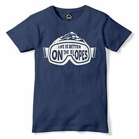 Zermatt Annual Ski Season T Shirt Skiing Goggles Switzerland Apres Tshirt 489