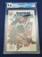 MARVEL CAPTAIN AMERICA #6 CGC 9.6 NEWSSTAND 1st FULL APPEARANCE WINTER SOLDIER