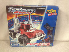 Transformers Armada BTR Built To Rule OPTIMUS PRIME w/ Spark Plug MiniCon #7056