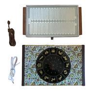 2 Vintage Electric Hot Trays- Salton Hotray Automatic Food Warmer &  Warm-O-Tray