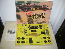Alter Schuco Montagekasten 225197 - Montage Lotus Formel 1 in 1:16 - 70er Jahre