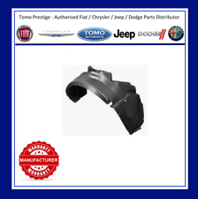 Fiat 500 2008-2015 Frontal Ala Forro de arco protección contra salpicaduras Lado del conductor aprobado