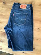 Levis Levi 501 Retro Blue Denim Jeans W34 L34
