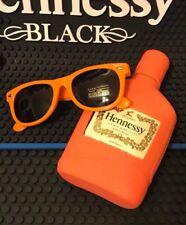 Hennessy Cognac Sleeve Glasses Orange Set Lot