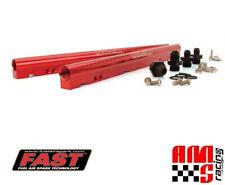 FAST 146027 Red Anodized Billet Fuel Rail Kit for LS3 LS7 L76 L99 w/ LSXR Intake