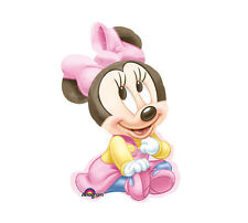 """Disney BABY MINNIE MOUSE XL 33"""" BALLOON 1st Birthday Party Shower Decorations"""