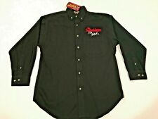 New Dale Earnhardt The Intimidator Nascar Winners Circle Men's Button Shirt M