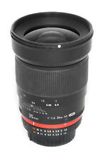 Samyang 35mm F/1.4 ED AS UMC Lens for Nikon in near perfect condition