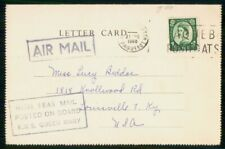 Mayfairstamps Great Britain 1960 Rms Queen Mary Louisville Ky Card wwh_73639