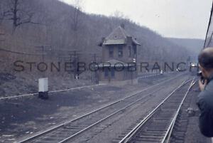 Original slide: PRR tower E. of Gallitzen PA; (near HS Curve); 4/8/1962