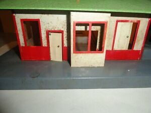Vintage American Flyer O Gauge Mystic Train Station With Light TESTED WORKING