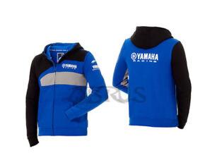 Genuine Yamaha 18 Paddock Blue Mens Blue Race Hoodie ATV QUAD MOTORCYCLES
