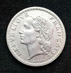 France 5 francs 1947 coin