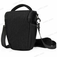 CADeN Black Sling Camera Shoulder Bag Case for Nikon Canon Sony Pentax Leica SLR
