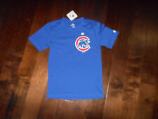 NWT MAJESTIC COOLBASE CHICAGO CUBS T-Shirt Size S/CH/P Blue