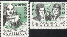 Guatemala 1992 UPAEP/Columbus/Sailing/Ships/Boats/Transport/People 2v set n28908