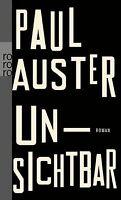 Unsichtbar von Auster, Paul | Buch | Zustand gut