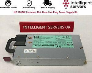HP 1200W Common Slot Silver Hot Plug Power Supply Kit  - 500172-B21 / 498152-001