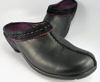 Clarks Women/'s Patty Tayna Clogs Slip On Closed Toe Shoes  Black /& Brown $94