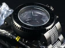 "Invicta Men 52mm Pro Diver ""COMBAT SEAL"" Gunmetal/Black Chrono 500M Diver Watch"
