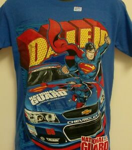 Dale Earnhardt Jr Superman Chase Royal Blue Children's T-Shirt - Extra Small