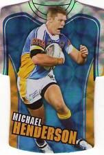 2009 NRL Select Classic Die Cut GOLD COAST TITANS MICHAEL HENDERSON JDC29 CARD