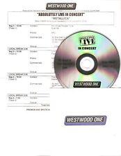 "Metallica ""ABSOLUTELY LIVE"" ww One radio promo CD rar"