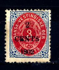 DANISH WEST INDIES - INDIE OCCIDENTALI DANESI - 1902 - Francobolli del 1873-1879