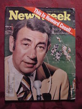 NEWSWEEK Magazine October 2 1972 Oct 72 10/02/72 HOWARD COSELL NORTH SEA OIL +++